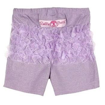 美國 RuffleButts 小公主甜美荷葉短褲_薰衣草紫(BRSP01)